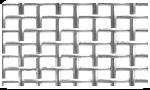 Сетка тканая металлическая чёрная и оцинкованная