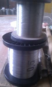 Проволока нержавеющая от 0,4мм диаметра и выше.