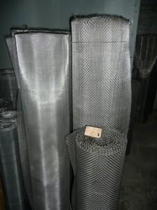 Сетка тканая нихромовая