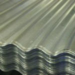 Лист гофрированный алюминиевый (шифер)
