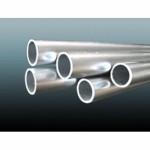Труба алюминиевая различных размеров, в хлыстах и бухтах.